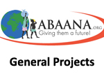 Abaana General Projects